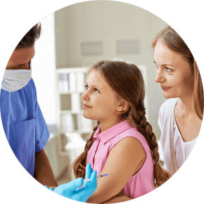 Immunization pediatric clinic in Bolingbrook, Illinois
